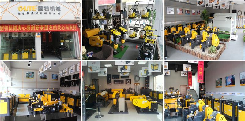 New type high performance chinese factory lectric plate compactor