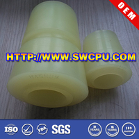 Urethane control arm bushing for trailer