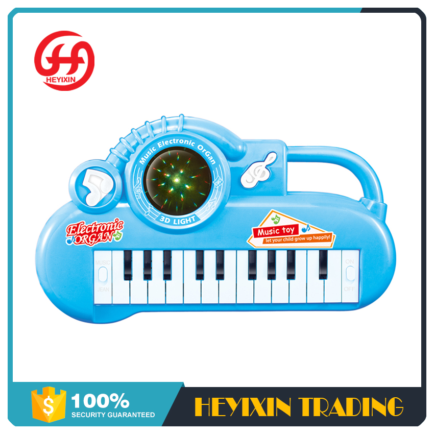 Good quality colorful piano electronic take along tunes musical toy with shiny appearance