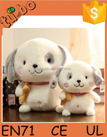 2015 hot sale cheap and good quality plush baby doll / plush dog toy for children gift made in china