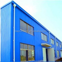 High quality prefabricated steel structures pictures for metal building warehouse
