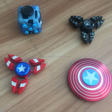 2017 New Design Factory OEM Alloy Metal Fidget Spinner League of Legends Series Stress Relief Hand Spinner