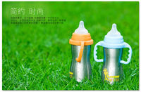 SGS approved Stainless steel baby bottle