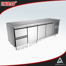 Commercial Restaurant Kitchen Fridge For Sale/Commercial Stainless Steel Fridge/Counter Fridge