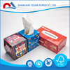 Shanghai Wood Pulp Printed Color Facial Tissue