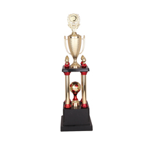 Big metal trophy cup 2017 sport medals and trophies china