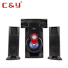 Hot sale ! CY-A13(3.1) ACDC USB/SD /MP3/FM/RADIO/TV/MP4/Portable DVD SPEAKER