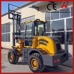 Forklift machine 5T rough terrain forklift/off road 4x4 forklift/rough terrain forklift