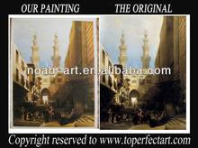 Hot-selling middle east building oil painting from Noah Art