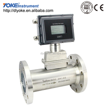 Low money cost digital turbine flow meter for gas