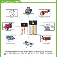 factory price 1.5V LR14 C Alkaline battery with long discharge time