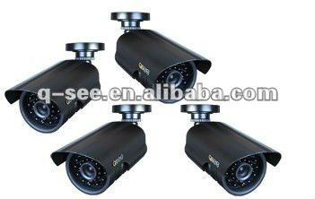 Sony Color CCD 480TVL Infrared Security Surveillance CCTV Camera with 24 LED Lights 4PK