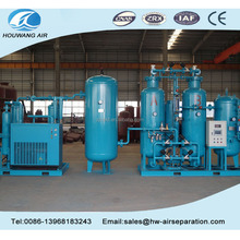 PSA oxygen generator plant for metal cutting