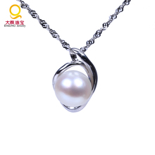 Freshwater pearl necklace designs silver necklace real pearl necklace costume jewelry