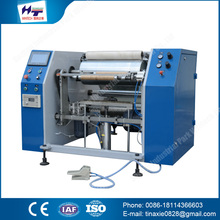 China supplier Plastic Packaging Machines automatic cling film rewinding wrapping machine
