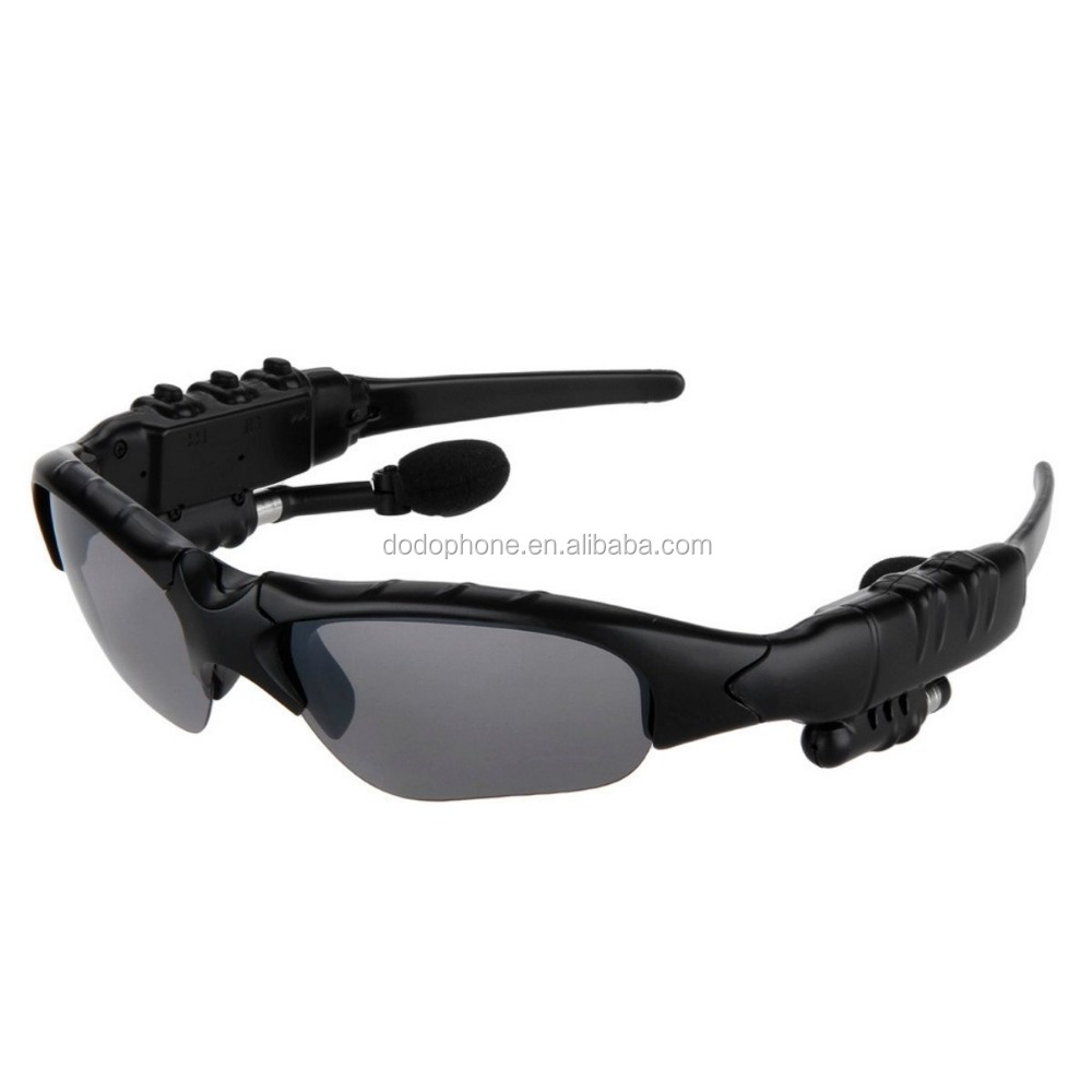 Smart Eyes Glasses Sport Type Headphone Microphone 3 In 1 Bluetooth Sunglass Earphone MP3 Sunglasses