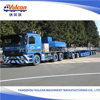 Popular Trailers Made In China Foldable Lowbed Semi Trailer Price (Customized)