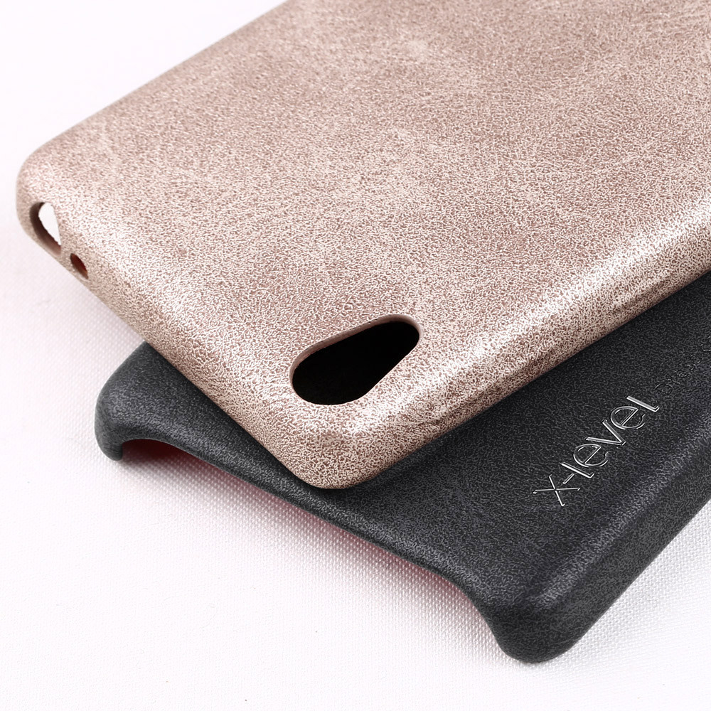 High Quality PU Leather Mobile Bumper Case for Sony Xperia E5