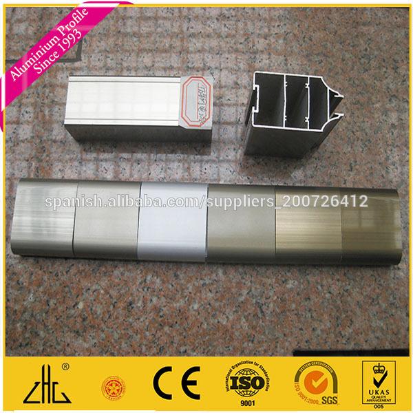 Perfil de aluminio electrofor tica champ n recubrimiento - Perfil de aluminio precio ...