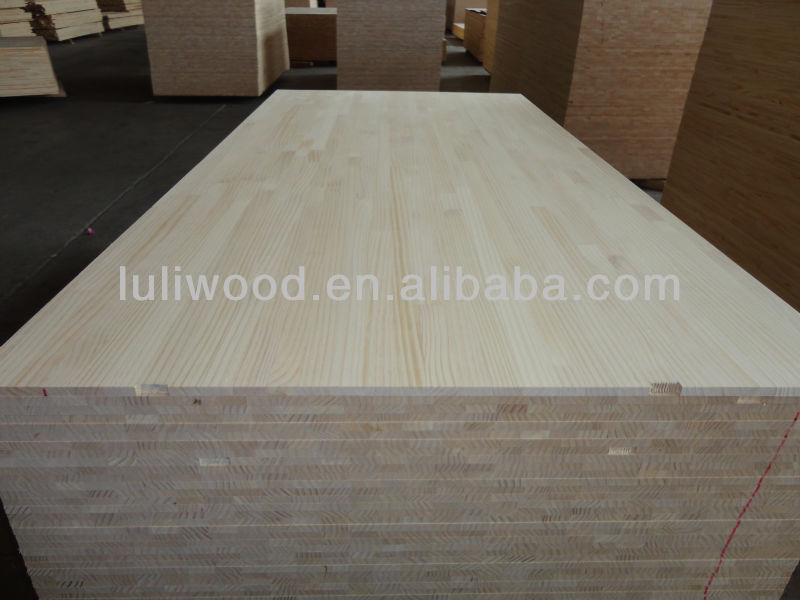 Good quality chile radiata pine finger joint board regular size used for furniture and interior decoration