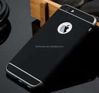 Luxury Ultra-thin Shockproof Armor Back Case Cover for Apple iPhone 6 6S black color