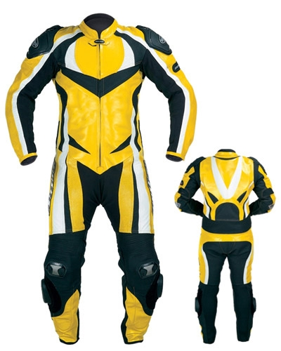 Custom made Motorbike Leather Suit 1-piece motorcycle leather suit