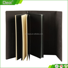 Customized A6 polypropylene coupon wallet,pp mini accordion file folder, A6 pp plastic expanding folder with suede fabric cover