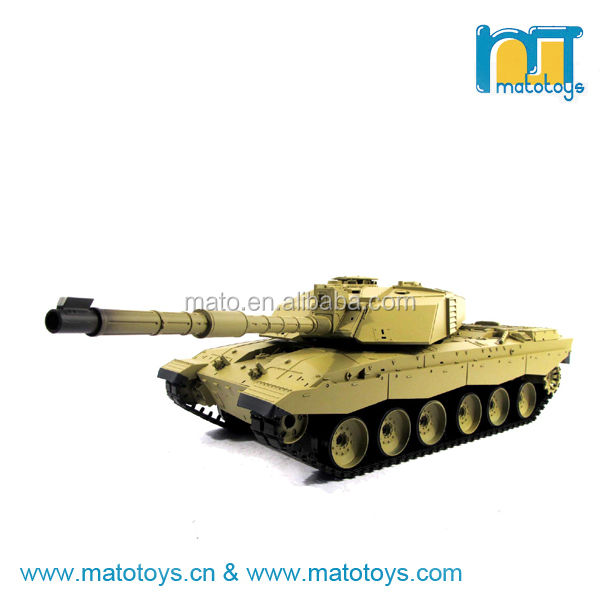 Heng long Tank RC Tank Toys 1:16 2.4GHz British Challenger 2 Tank With Smoke And Sound Function