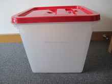 large plastic ballot box for election/vote