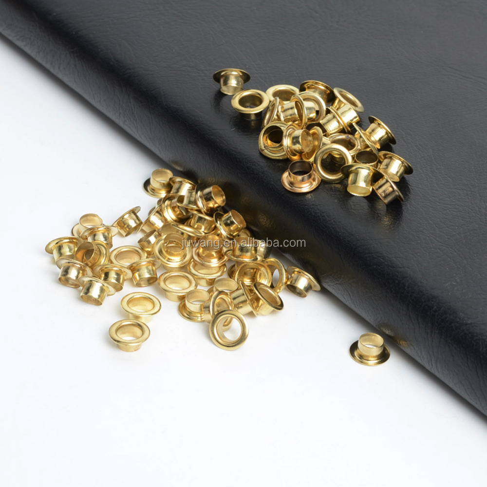 metal eyelets round for handbags