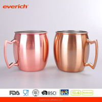 FDA Grade China 500mL Double Wall Stainless Steel Coffee Cup with Handle