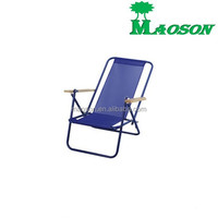 selling 2015 brazil popular style metal reclining beach folding chair