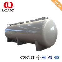 Double layer SS 50m3 crude oil carbon steel storage tank