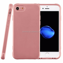 For Iphone6/7 The High Quality Colorful Metal Paint Full Package Soft Case Protective Covered