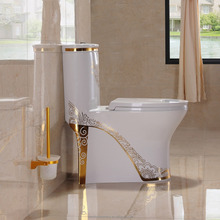 DNS 2090H-1New Model Gold Color Toilet