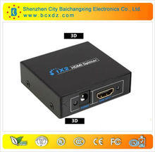 3D HDMI Splitter for PS3 XBOX 360 3D DVD 1080p 1.3 HDTV 1 in 2 out port