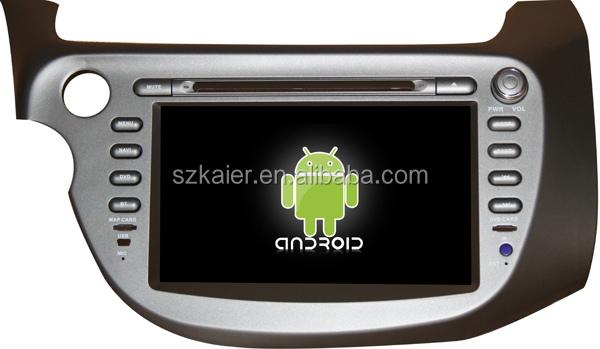 Car android stereo for Honda Fit/Jazz with GPS/Bluetooth/TV/3G/WIFI