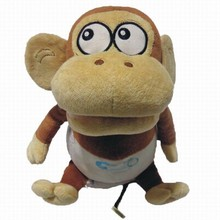 2015 Hot sale plush monkey, cheap plush toy , plush baby toy