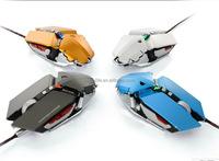 9d ergonomic design custom logo PC mouse optical high 4000 DPI USB multicolor LED programming OEM gaming mouse