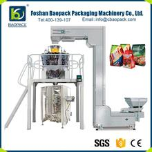 Factory price 4 edge sealing and shrink wrapping machine