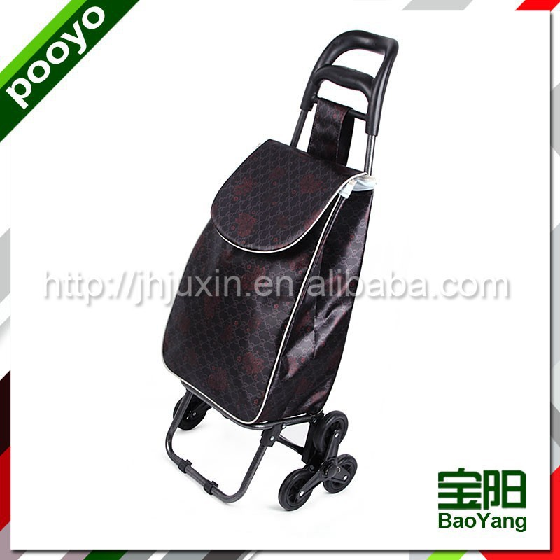 mini folding luggage cart folding box trolley on wheels
