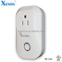 Xenon smart home bluetooth wifi timing plug socket works with amazon alexa acho ups wireless energy monitor power plug socket