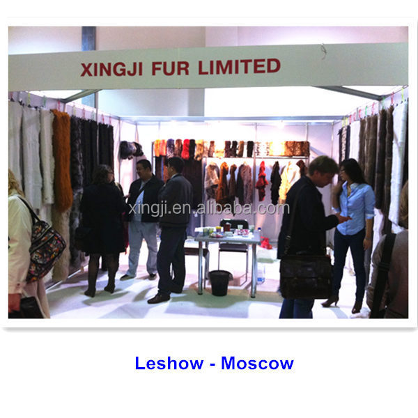 Top quality fashion real rabbit fur trimming
