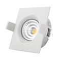 LEPU Patent GYRO square downlight Anti-glare warm dim 2000-2800k