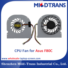 Factory prices Laptop CPU Cooling Fan compatible for Asus F80C F80S F80L F80Q F81S X82 F83 X88 X85S Series