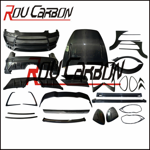 high quality 958 Lum design style body kit with spare parts for Pors Cayenn e 958 10~