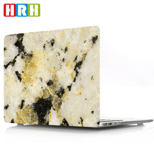 Marble Pattern Design Laptop Body Shell Protective Rubberized Hard Case for Macbook Air 11 13 Pro 13 15 Pro Retina 12 13 15