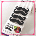 High Quality Party Supply Mustache plastic Drinking Straws