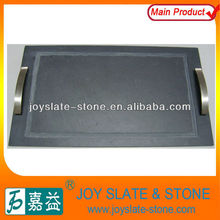 Hot sale natural slate pizza tray