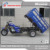 Nigeria Africa Popular Two Passenger Long Seats Passenger Cargo Motorcycle